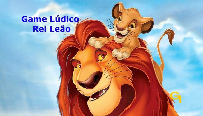 Brincadeira Lúdica sobre o desenho da Disney Rei Leão