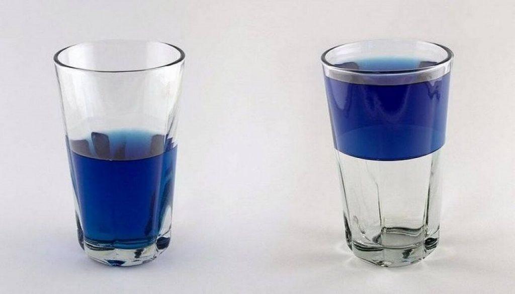 Emoções Cognitivas: copo cheio e copo vazio