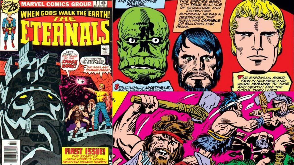 Imagens: Marvel Comics, Eternos de Jack Kirby
